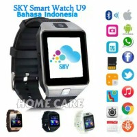 Jual SKY U9 Jam Tangan HP Smart Watch Touchscreen GSM Murah