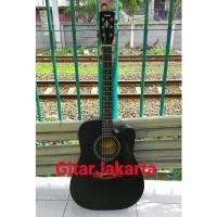 Gitar Akustik Elektrik Equalizer Yamaha F335BL Blackdoff Murah Jakarta