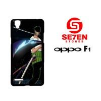 Casing HP Oppo F1 (A35) one piece roronoa zoro Custom Hardcase Cover
