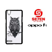 Casing HP Oppo F1 (A35) owl Custom Hardcase Cover