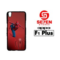 Casing HP Oppo F1 Plus (R9) Spiderman on the wall Custom Hardcase Cove