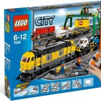 Lego City 7939 Cargo Train Tanker Power Functions Kereta Api Original