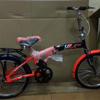 sepeda odesy lipat 20 dewasa bagus dan murah