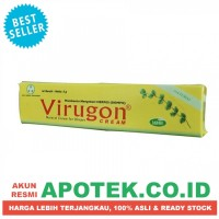 Virugon 5 gr Cream/Krim/Salep - Obat Kulit Herpes/Dombo