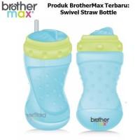 Jual brother max swivel straw bottle - brothermax botol minum anak Murah