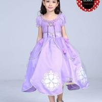 Baju Kostum Anak Princess SOFIA The First PREMIUM (Bukan yg Biasa)