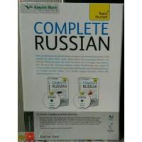 """Belajar Bahasa Rusia """" Paket Complete Russian Vol. 1 &2 +CD Audio"""