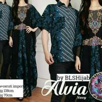 couple batik kaftan cantik alvia couplr by bls