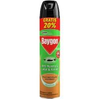 Baygon Aerosol Natural Orange 600 mL + Extra 120 mL