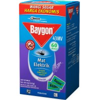 harga Baygon Mat Lavender 60 Pcs Tokopedia.com