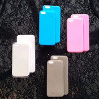 ultrathin jelly iphone 4 / 4s, 5 / 5s, 6 (softcase)