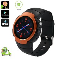 Smartwatch Z9 Waterproof IP 67 Heart Rate Android 5.1 Smart Watch GS