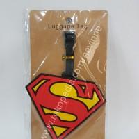 Gantungan Tas | Luggage Tag Logo Superman DC Heroes