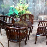 Jual kursi tamu-teras-makan-minimalis-betawi lenong jati jepara Murah