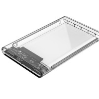Jual ORICO 2139U3 2.5 inch Transparent USB3.0 Hard Drive Enclosure Murah