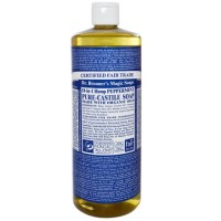 Dr. Bronners Peppermint Pure-Castile Soap 473 Ml