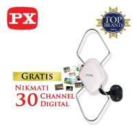 Jual PX Digital TV Indoor / Outdoor Antenna HDA-5600 Murah