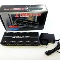 VGA Splitter 8 Port One video input to 8 video outputs