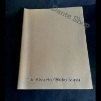 Sampul Coklat Polos Kwarto / Buku Tulis Biasa ( per Pak )