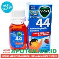 Vicks Formula 44 Child 27 ml - Sirup Obat Batuk Anak Strawberry