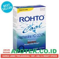 Rohto Cool 7 ml - Tetes Mata Steril - Obat Kemerahan, Perih, Gatal