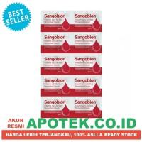 Sangobion Strip - Obat Anemia, Multivitamin, Tambah Darah