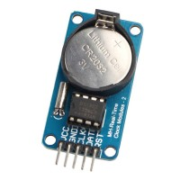 DS1302 Real Time Clock Module RTC DS 1302 Modul Pencacah Waktu Arduino