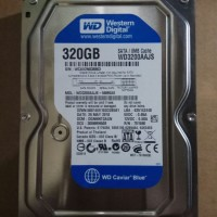 "HARDDISK WDC BLUE 320 GB SATA 3.5"" INTERNAL"