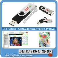 USB TV Radio / Worldwide Internet Radio & TV Player