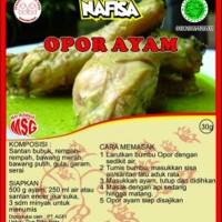 Bumbu NAFISA Non MSG Opor Ayam