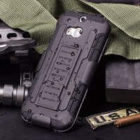 FUTURE ARMOR Htc one M7 M8 dual soft case back cover casing hp bumper