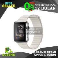 Apple Watch 1 2015 Stainless Leather Loop White Band 42MM