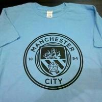 T shirt Man City Logo | kaos Manchester City