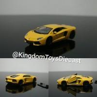 Aventador Lamborghini 1:32 34 36 welly nex diecast miniatur