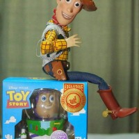 Hot Toys Cosbaby Toy Story Buzz Lightyear Disneyland Shanghai 20cm