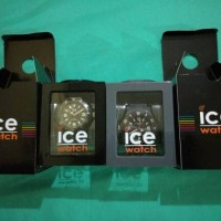 Jam Ice Watch Solid Black & Antharacite NEW