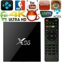 Jual ANDROID TV BOX X96 QUADCORE RAM 2GB ROM 16GB , OS 6.0 MARSHMALLOW Murah