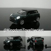 New mini hatch cooper green Skala 32 34 36 welly nex diecast miniatur