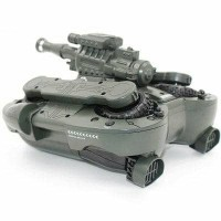 YED 24883 RC TANK 2,4Ghz 4WD Wireless LED Light Amphibious Tank
