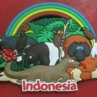 Magnet kulkas Indonesian animal souvenir negara Indonesia