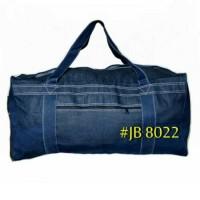 Tas Travel Bag Pakaian Besar Tas Travelling Jumbo Jeans Bag JB 8022