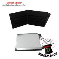 Gimmick Dompet Api | Fire Wallet | Alat Sulap | Korek | Dimen Shop
