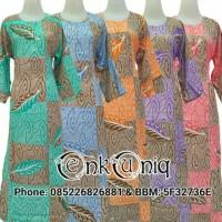 Batik Pekalongan / dress / Daster Muslim / Daster Panjang / Busui