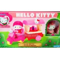Hello Kitty Scooter & Cart Set