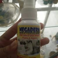Megaderm spray obat luka gatal kucing anjing