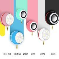 Jual Beauty Speaker + Lampu Selfie Lamp 2 in 1 | lampu Disko Cantik Murah Murah
