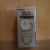 Flash Yongnuo YN 660 Manual Kamera DSLR Canon Nikon