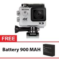 Jual Onix XCOM X3 Action Camera 4K HD 16MP SILVER Carton Box Murah