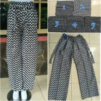 Celana Kulot batik Dewasa bahan Katun Rayon standar .18
