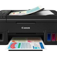 JUAL PRINT PRINTER CANON PIXMA G4000 WIRELESS ALL-IN-ONE W/ ADF&FAX MU